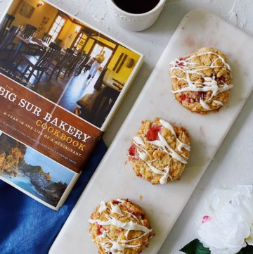Strawberry Scone Recipe from Big Sur Bakery