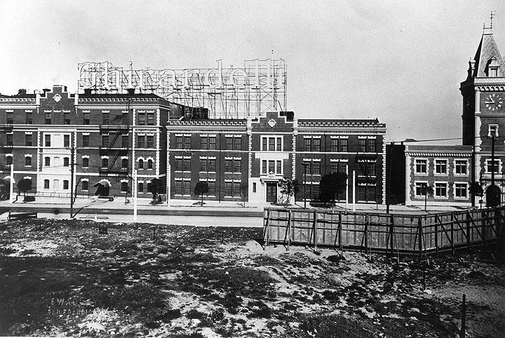Ghirardelli Square circa 1936
