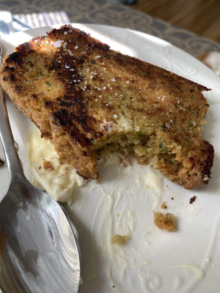Zucchini bread from A Boat, a Whale, & a Walrus cookbook