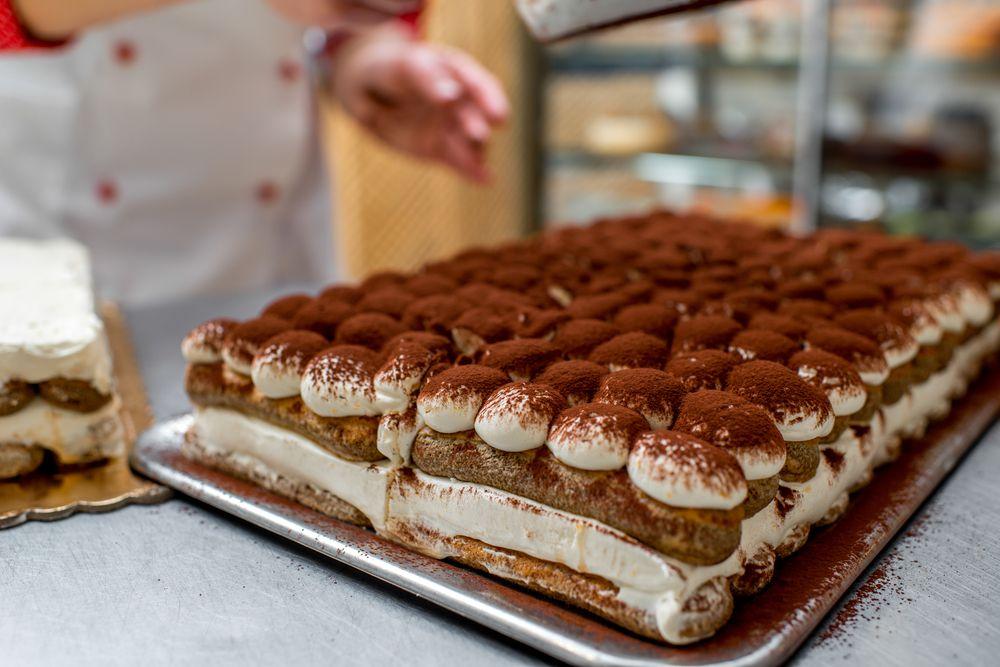 Freestanding Tiramisu from Ferrara Bakery & Cafe