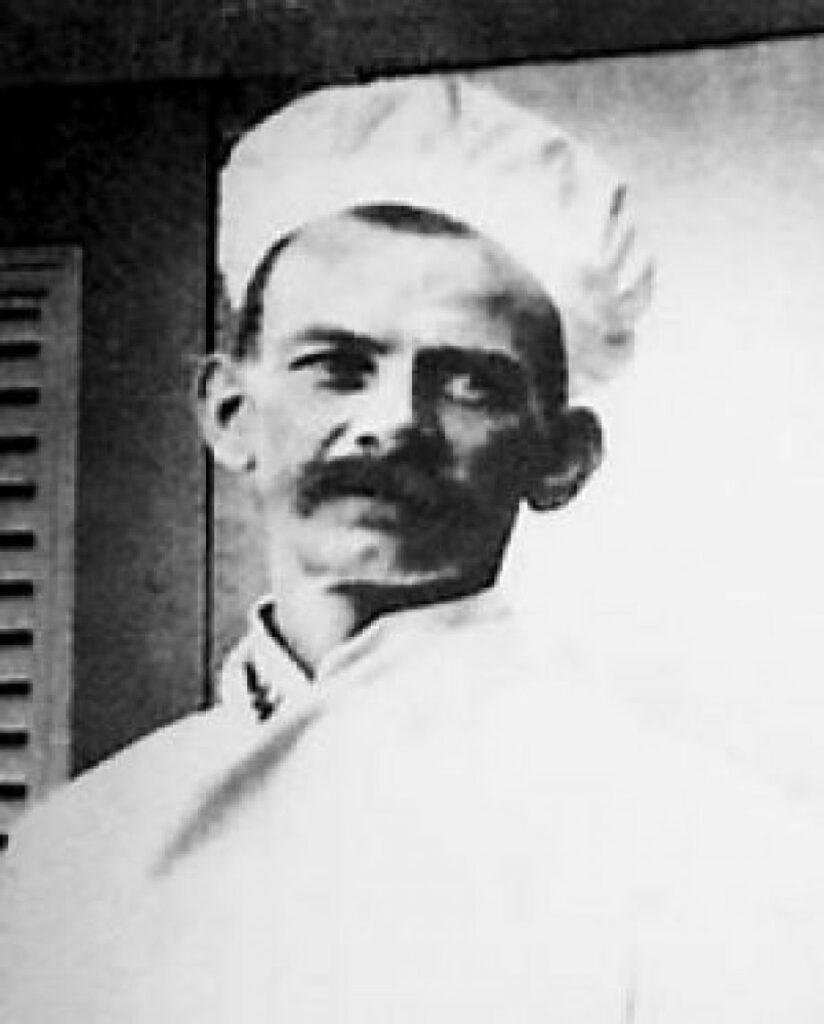 Armand Gallard, Lord Lamington's chef, the man credited with inventing the lamington.
